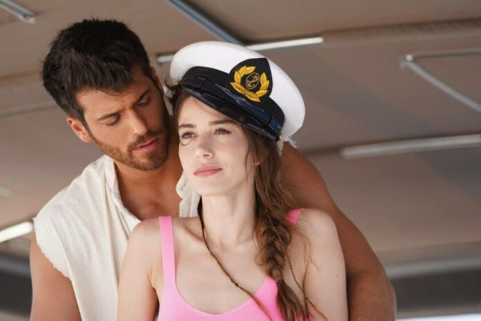 ozge gorel and can yaman in bay yanlis episode 3