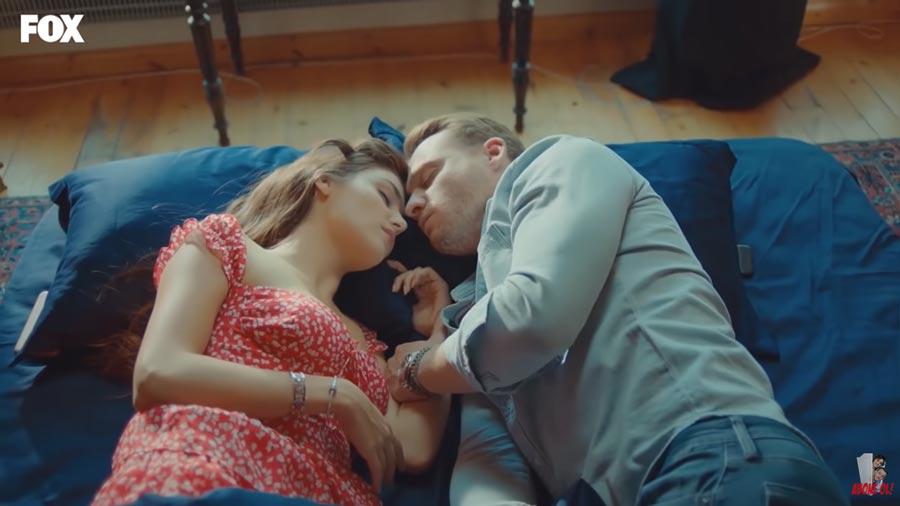eda et serkan dorment ensemble meme lit episode 9
