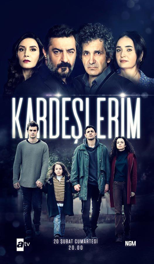 serie turque kardeslerim nouveaux acteurs